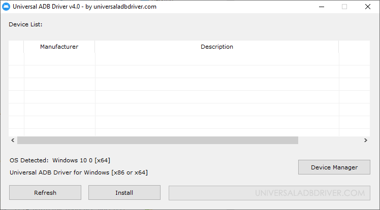 adb download driver